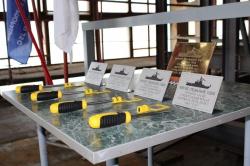 Церемония закладки морского судна проекта 1400