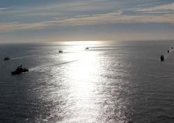 Северный флот вошел в море Лаптевых