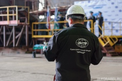 Закладка корабля и 85 лет - судостроительная фирма