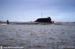 Первый выход в море атомной