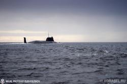 Первый выход в море атомной подводной лодки