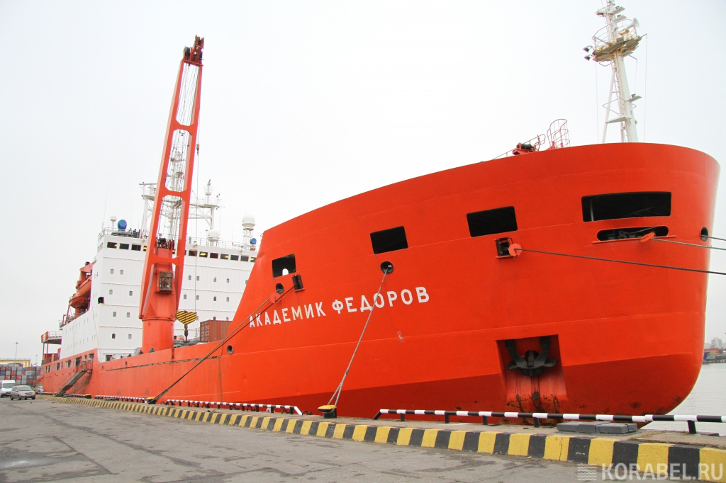 Технические характеристики судна AKADEMIK FEDOROV Научно-исследовательское судно