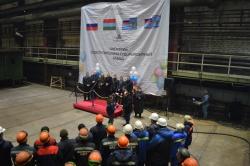 На Онежском заводе заложили обстановочное судно пр