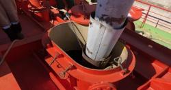 Погрузка зерна на танкер проекта RST2