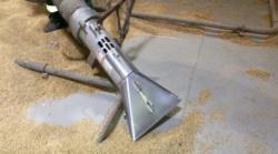 Выгрузка зерна из танкера проекта RST25