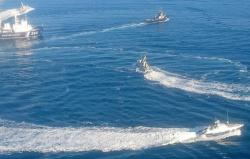 Задержание кораблей ВМС Украины в Азовском море