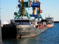 Port Aktau. 2018-11-24
