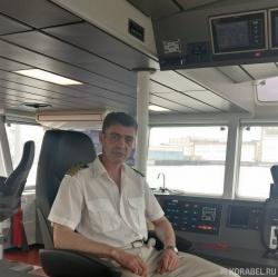 Сергей Беркович, капитан бу