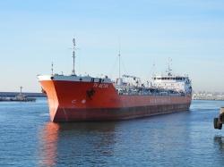 Port Aktau. 2018-11-28
