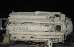 Отсек двигателя М-507А после