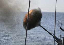 Стрельбы в Японском море