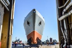 Уникальный новейший корабл