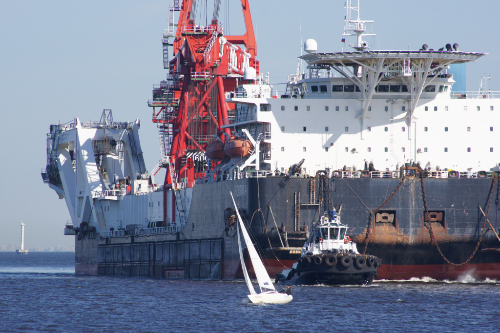 Норвежское судно-инспектор проверяет «Северный поток-2»?