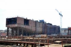Строящийся паром проекта CNF