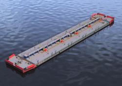 Нефтеналивная баржа RDB66.61