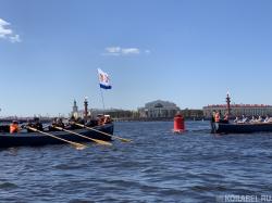 Шлюпочный парад прошел в Петербурге