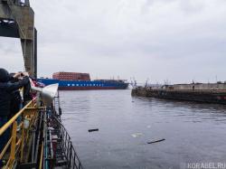 Спуск на воду атомного гига