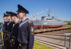 Церемония спуска корабля