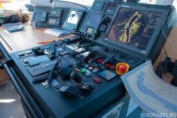 Капитанский мостик шаланды