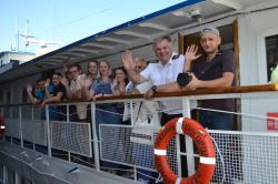 Первый рейс экспедиции ВГУВТ и вузов-партнеров