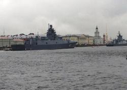 Швартовка кораблей на Неве