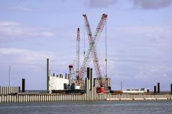 Строительства порта Пионерский