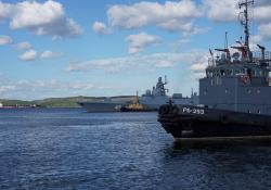 Прибытие Северного флота в базу