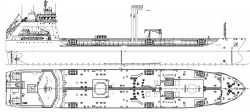 Схема танкера