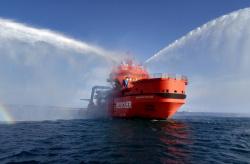 Морспасслужба в порту Ванино