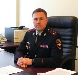 Полковник полиции Юрий Григорьев
