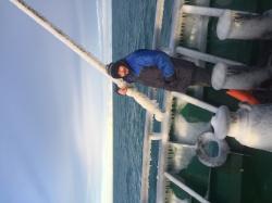 Зима Беренгово море.