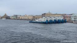 Водные пути города для движения судов