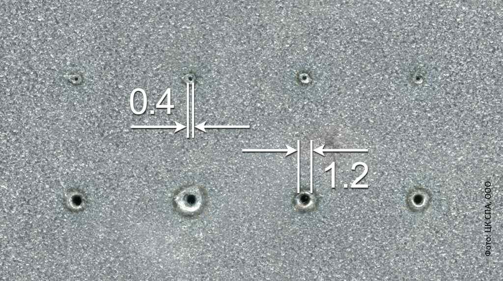 Высокоточная пробивка отверстий с помощью установки для лазерной резки / ЦК СПА, ООО