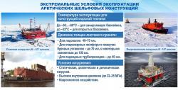 К чему должны быть готовы арктические материалы