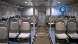 Нижний пассажирский салон.