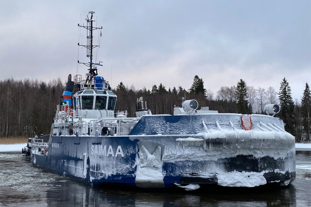 Финляндия представила инновационный ледокол