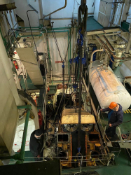 Ремонт двигателя танкера