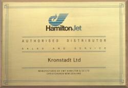 Сертификат Hamilton Jet