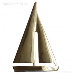 """Интерьерное изделие """"Яхта золотая"""""""