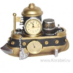 "Часы, гигрометр, термометр ""Корабль"""