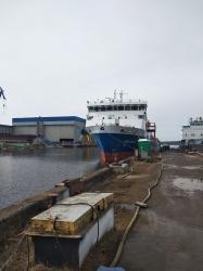 Грузопассажирское судно пр