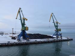 Терминал морского порта