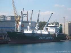GREEN AUSTEVOLL в порту Одесса