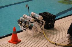 Робот перед спуском в воду