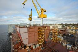 Строительство ледокола на ВСЗ