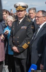 Церемония подъема флага на