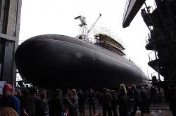 Спуск на воду подводной лод
