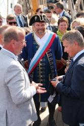 Визит президента Финляндии Саули Нийнистё на фрега