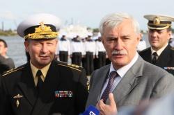 Главноком ВМФ России Виктор Чирков, врио губернато