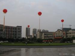 Одна из площадей студенческого городка